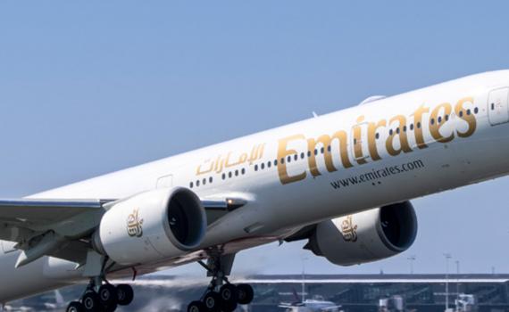 Photo of Emirate Airplane